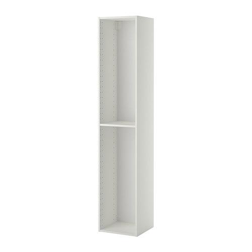 Metod struttura per mobile alto bianco 40x37x200 cm ikea for Recensioni elettrodomestici ikea