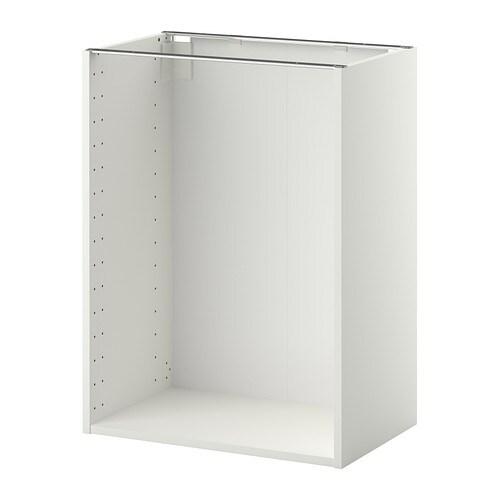 METOD Struttura per mobile base - bianco, 60x37x80 cm - IKEA