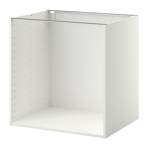 METOD Struttura per mobile base - bianco, 80x60x80 cm - IKEA