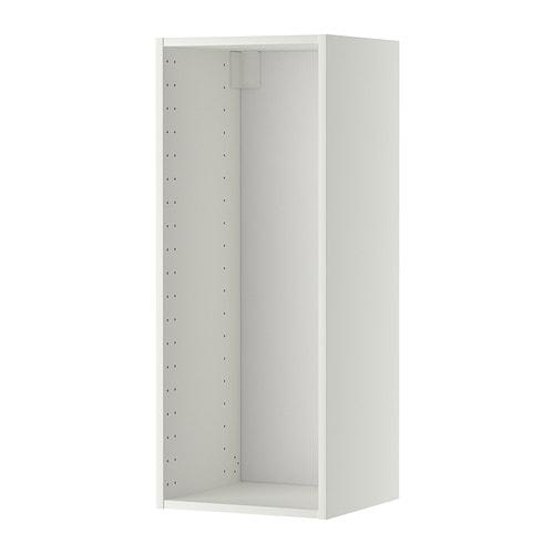Metod struttura per pensile bianco 40x37x100 cm ikea - Mobili cucina profondita 50 cm ikea ...