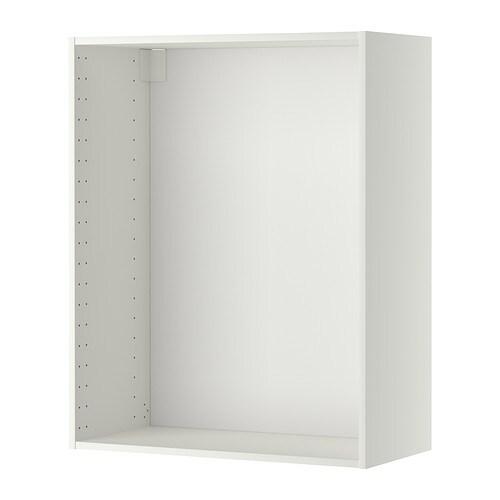 METOD Struttura per pensile - bianco, 80x37x100 cm - IKEA