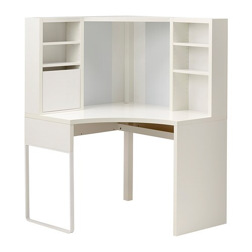 Micke mobile studio angolare bianco ikea - Mobile billy ikea ...