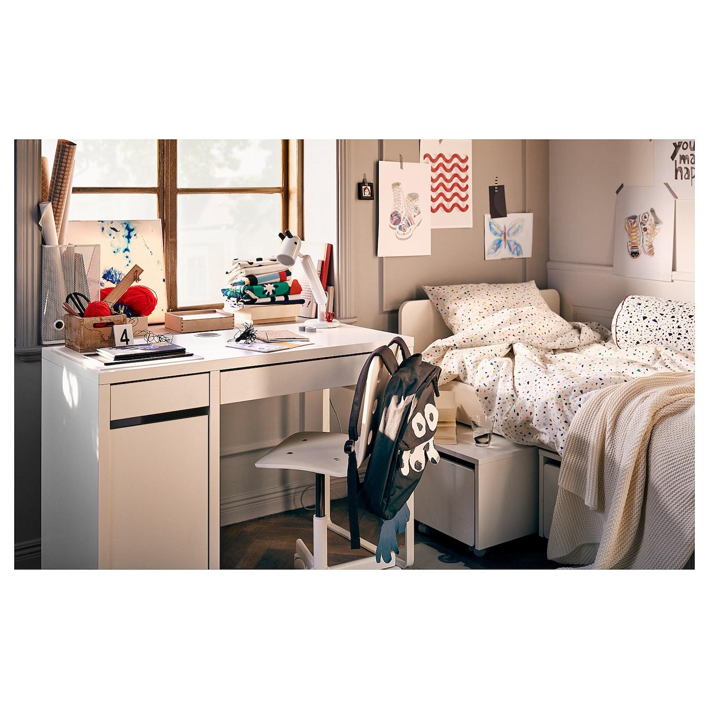 Micke Scrivania Bianco 105x50 Cm Leggi I Dettagli Del Prodotto Clicca Qui Ikea It
