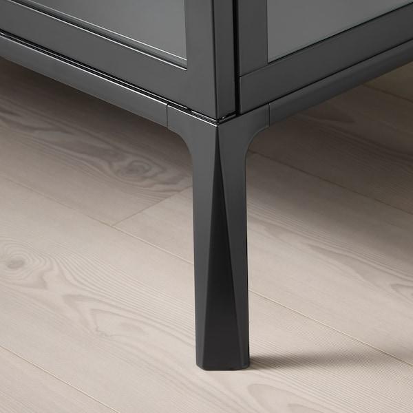 MILSBO Vetrina, antracite, 73x175 cm