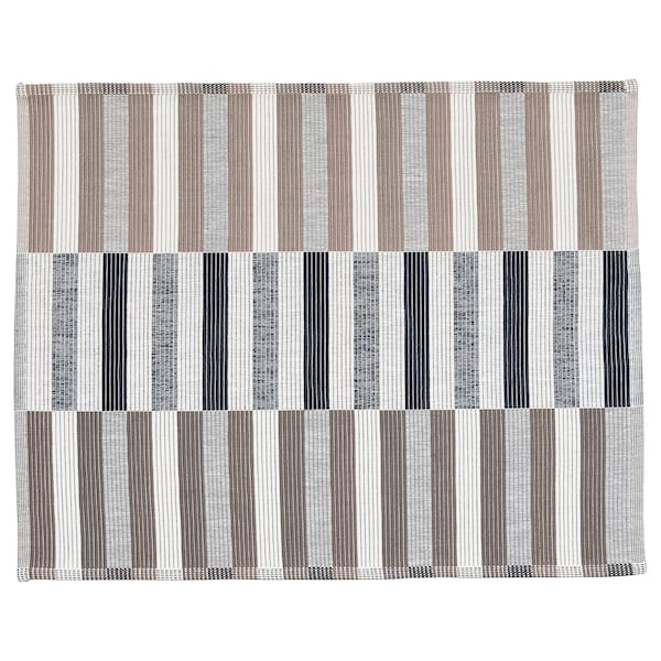 MITTBIT Tovaglietta all'americana, nero beige/bianco, 45x35 cm