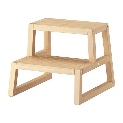 Molger scaletta sgabello betulla 41x44x34 cm ikea for Ikea scaletta bagno