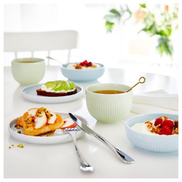 MORGONTE Set piatto/ciotola, 3 pezzi, multicolore