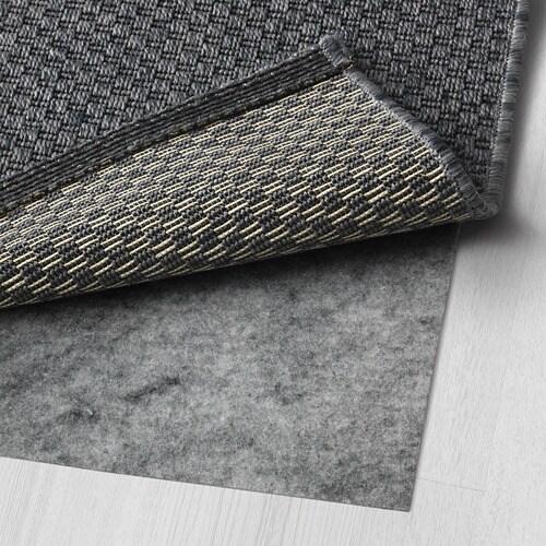 MORUM Tappeto tessitura piatta int/est - grigio scuro, 200x300 cm - IKEA