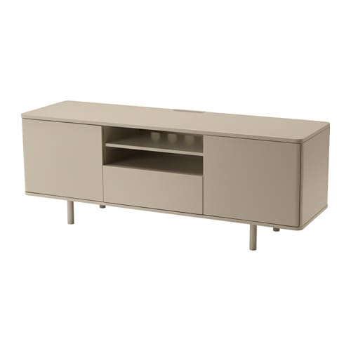 Mostorp mobile tv lucido beige ikea for Ikea mobile tv