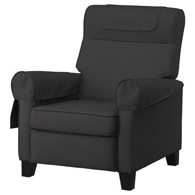 MUREN Poltrona reclinabile, Remmarn grigio scuro