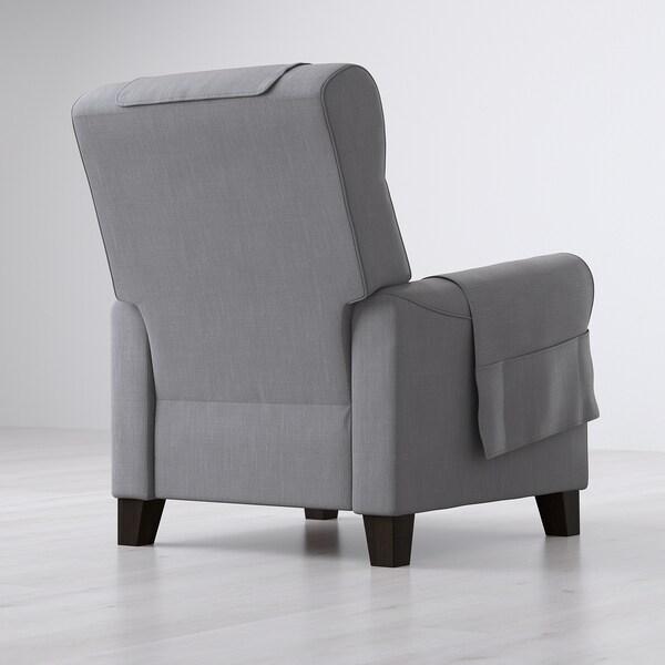 Poltrone Relax Elettriche Ikea.Muren Poltrona Reclinabile Nordvalla Grigio Fumo Ikea
