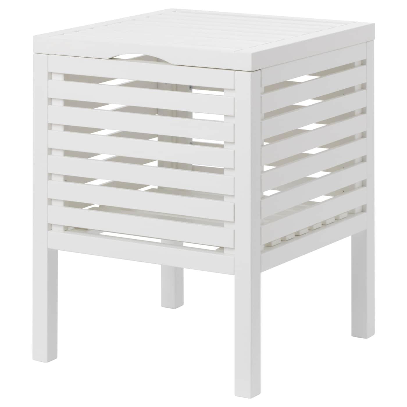 Sedile Per Doccia Ikea.Muskan Sgabello Con Contenitore Bianco Ikea It