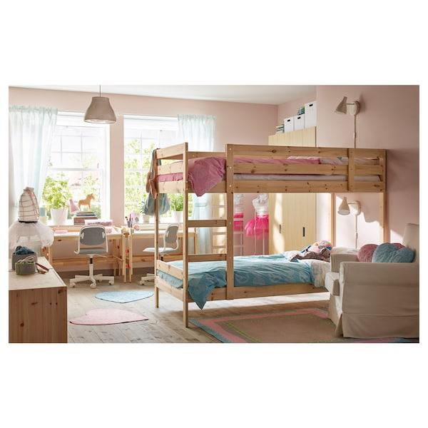 Ikea Letto A Castello Bambini.Mydal Struttura Per Letto A Castello Pino Ikea