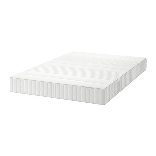 MYRBACKA Materasso in lattice - 160x200 cm, semirigido/bianco - IKEA