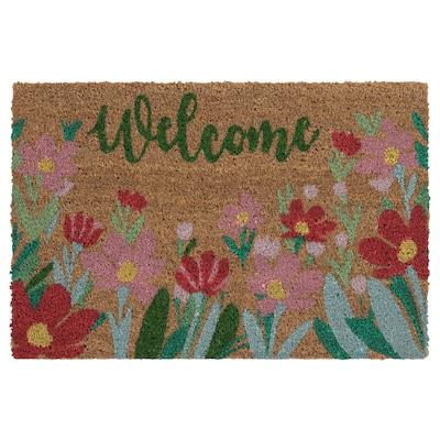 NÄSBORG Zerbino, fiori misti/multicolore, 40x60 cm