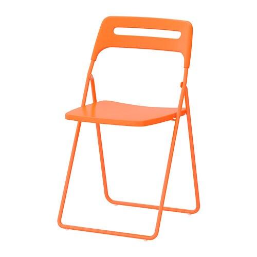 NISSE Sedia pieghevole IKEA Puoi chiudere la sedia quando non la usi ...