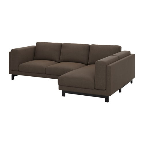 Nockeby divano 2 posti chaise longue dx destro ten - Ikea divano chaise longue ...
