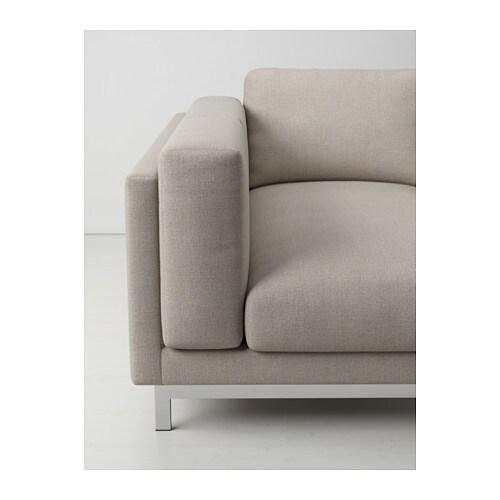 Nockeby gambe divano 2 posti chaise longue ikea - Ikea divano chaise longue ...