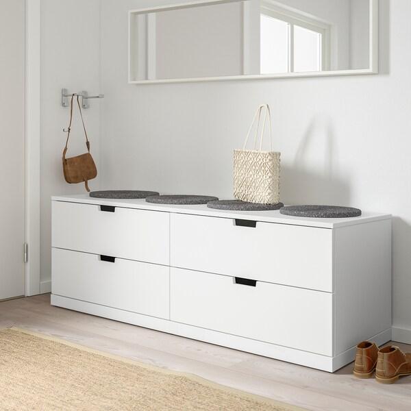 IKEA NORDLI Cassettiera con 4 cassetti