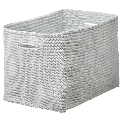 NORDRANA Cestino, grigio, 35x26x26 cm