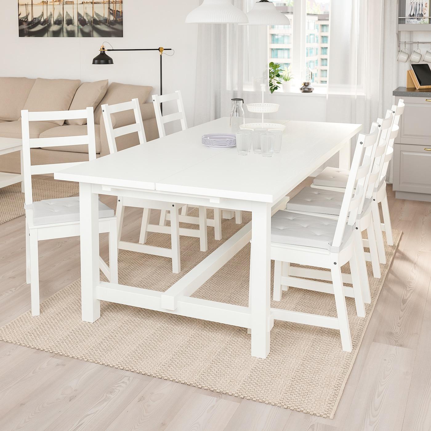 Nordviken Tavolo Allungabile Bianco Ottieni Tutti I Dettagli Del Prodotto Ikea It