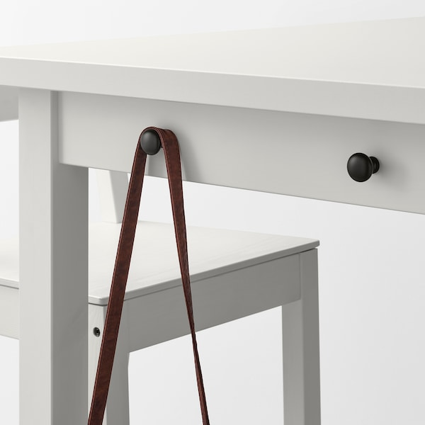 NORDVIKEN Tavolo bar, bianco, 140x80x105 cm
