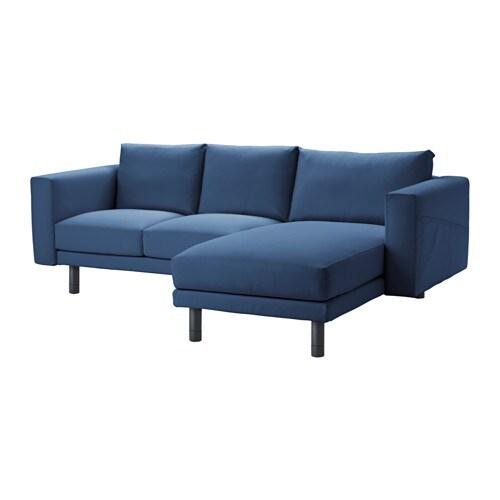 NORSBORG Divano a 2 posti con chaise-longue - Edum blu ...