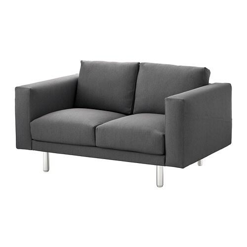 NORSBORG Divano a 2 posti - Finnsta grigio scuro, metallo - IKEA