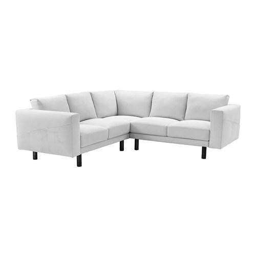 Norsborg divano angolare 2 2 finnsta bianco grigio ikea - Divano angolare ikea ...