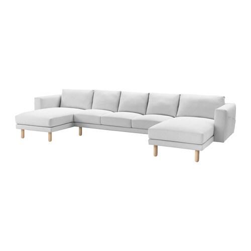 Norsborg divano 3 posti con 2 chaise longue finnsta - Ikea divano chaise longue ...