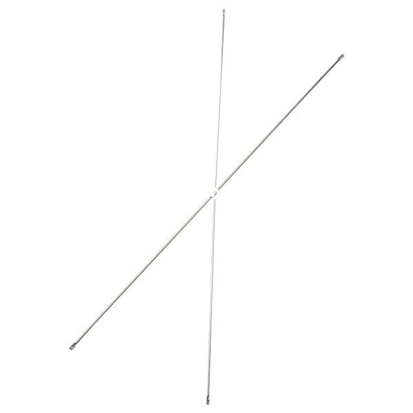 OBSERVATÖR sostegno a croce galvanizzato 100 cm