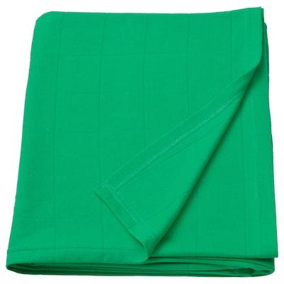 ODDHILD Plaid, verde vivo, 120x170 cm
