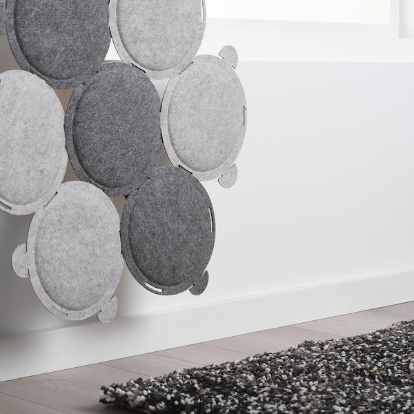 ODDLAUG Pannello fonoassorbente, grigio