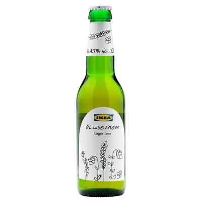 ÖL LJUS LAGER Birra lager 4,7%, 330 ml