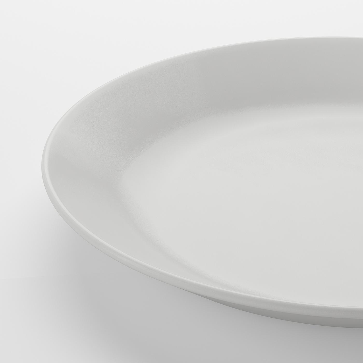 OFTAST Piatto, bianco IKEA IT