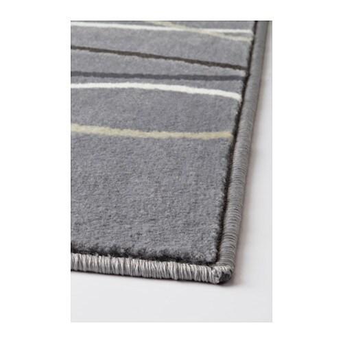 Tappeto moderno grigio arredo casa soggiorno ufficio a - Tappeto grigio ikea ...