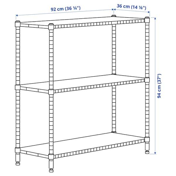 OMAR 1 sezione, bambù, 92x36x94 cm