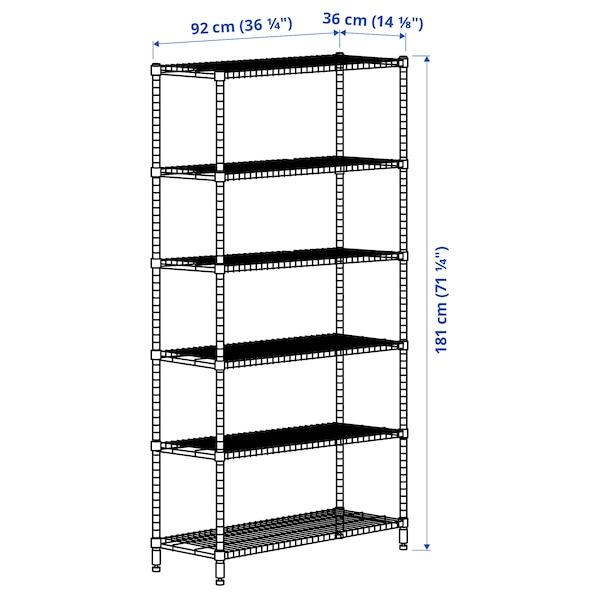 OMAR 1 sezione, 92x36x181 cm