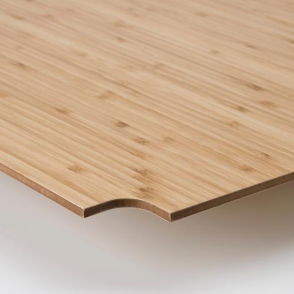 OMAR Protezione per ripiano, bambù, 92x36 cm