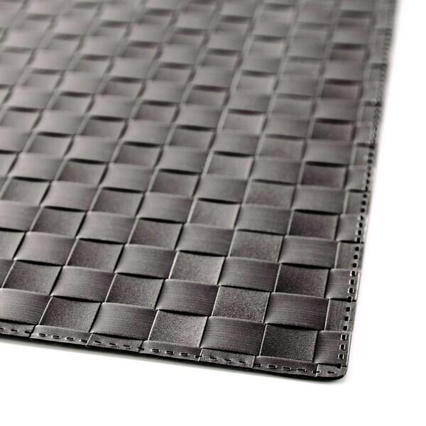 ORDENTLIG Tovaglietta all'americana, nero, 46x33 cm