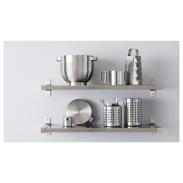 ORDNING Portautensili da cucina, inox, 18 cm