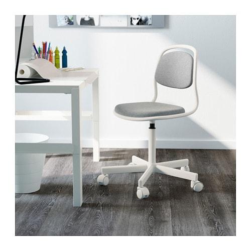 Rfj ll sedia da scrivania per bambini ikea - Sedia girevole ikea ...