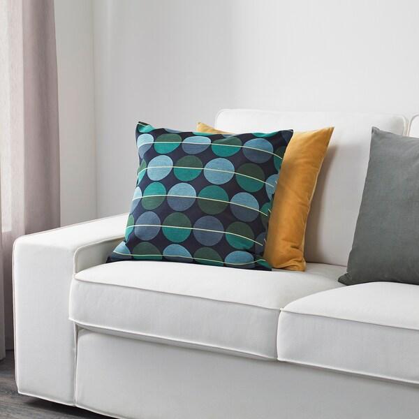 Cuscini Ikea Per Divano.Ottil Fodera Per Cuscino Blu Verde Ikea It
