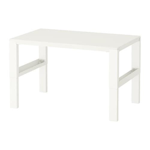 P hl scrivania bianco ikea for Coprisedia bianco ikea