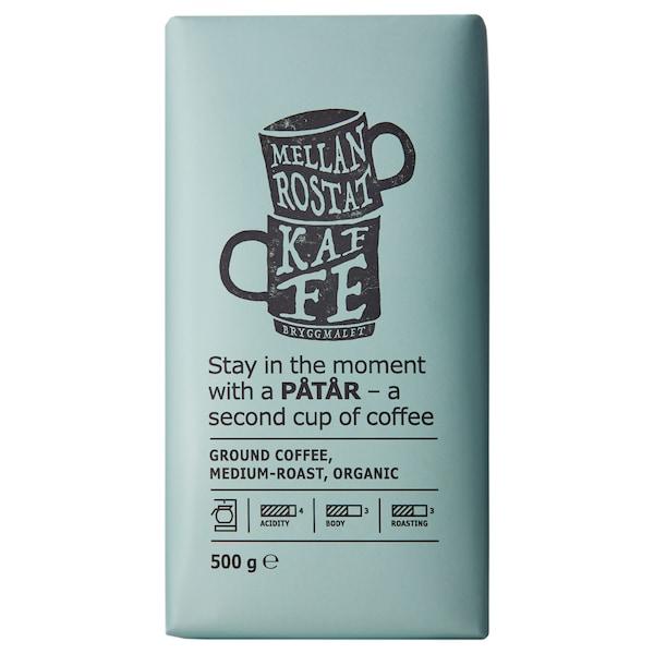PÅTÅR Caffè filtro, tostatura media, biologico/certificato UTZ/100% Arabica