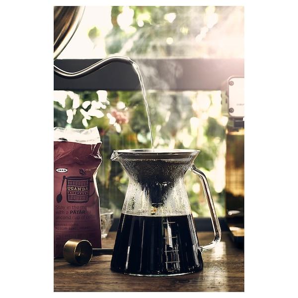 PÅTÅR Caffè filtro, tostatura media, Uganda/100% chicchi di Arabica/certificato UTZ/biologico