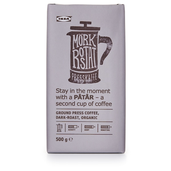 PÅTÅR Caffè francese, tostatura forte, biologico/certificato UTZ/100% Arabica