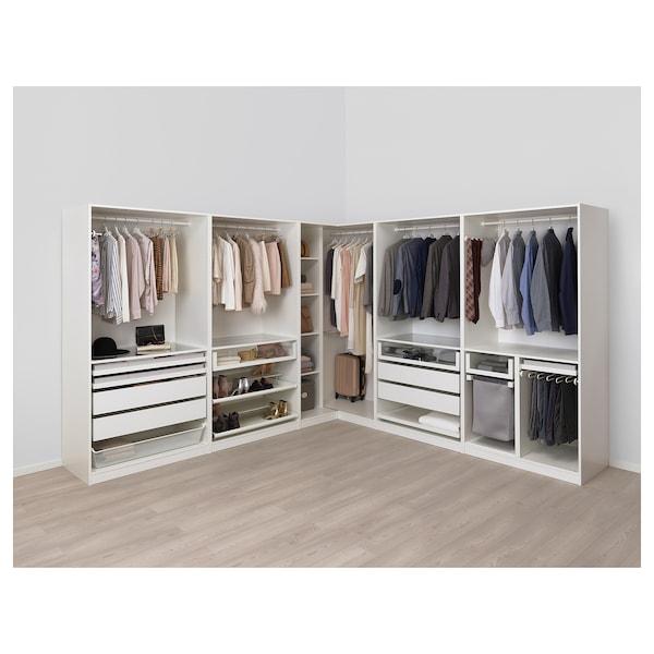 Ikea Pax Guardaroba Angolare.Pax Guardaroba Angolare Bianco Forsand Vikedal 310 310x201 Cm