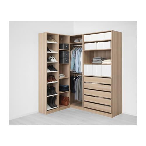 Pax guardaroba angolare 160 188x236 cm ikea for Ikea angolare pax