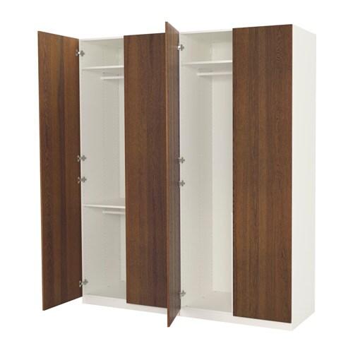 pax guardaroba 200x60x236 cm cerniere standard ikea. Black Bedroom Furniture Sets. Home Design Ideas